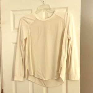Rebecca Taylor long sleeved silk shirt